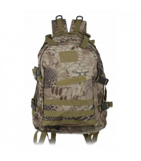 Zaino in nylon Coyote Python Camo, Barbaro