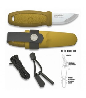 Coltello Morakniv Eldris Giallo con kit