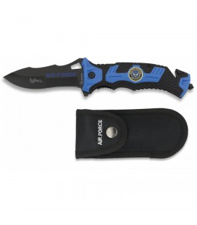 Coltello rescue AIR FORCE, foglio e 9.1 cms.