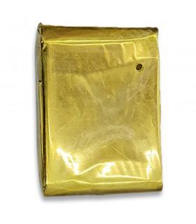 Coperta termica da tasca in oro per il freddo e il caldo