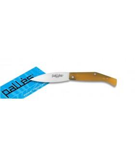 ABS manico del coltello di plastica, lama 10 cm.