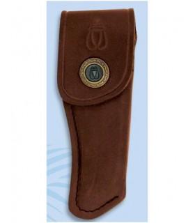 Casi di cuoio per coltelli Laguiole, 11 cm.